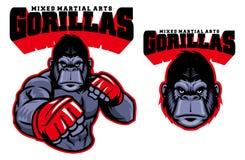 Gorilla del combattente del Muttahida Majlis-E-Amal royalty illustrazione gratis