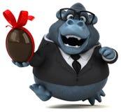 Gorilla di divertimento - illustrazione 3D royalty illustrazione gratis