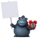 Gorilla di divertimento - illustrazione 3D illustrazione di stock