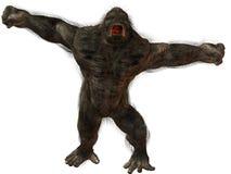 Gorilla di Silverback royalty illustrazione gratis