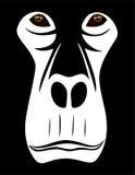 Gorilla Face Royaltyfria Bilder