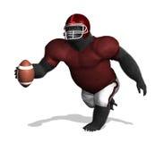 Gorilla Football Player (senza numeri) Fotografia Stock