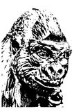 Gorilla II Fotografia Stock Libera da Diritti