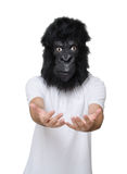 Gorilla man Royalty Free Stock Photo