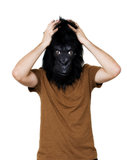 Gorilla man Royalty Free Stock Image