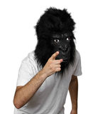 Gorilla man Stock Photography