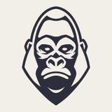 Gorilla Mascot Vector Icon royalty illustrazione gratis