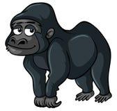 Gorilla with sad smile Royalty Free Stock Photography