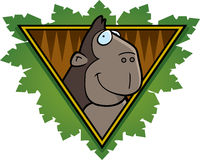 Gorilla Safari Icon Stock Images