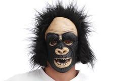 Gorilla-Schablone Lizenzfreie Stockfotografie