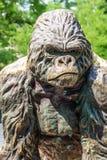 Gorilla Statue Lizenzfreie Stockfotografie