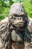 Gorilla statue Royalty Free Stock Photography