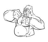 Gorilla Vector Illustration Images stock