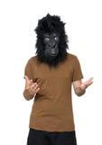 Gorillamann Stockbilder