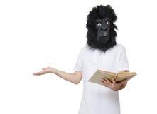 Gorillamann verwirrt Lizenzfreies Stockbild