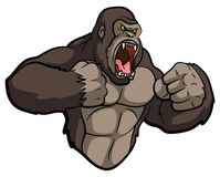 Gorillamaskottchen Lizenzfreies Stockbild