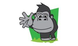 Gorille illustration de vecteur