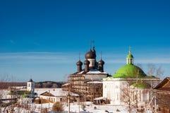 Goritskii-Auferstehungs-Kloster Stockbild