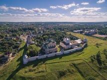 Goritsky kloster Arkivfoton