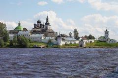 Goritsky-Kloster (Goritsy) Lizenzfreies Stockfoto