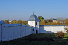 Goritsky-Kloster von Dormition in der Stadt von Pereslavl-Zalessky Russland Lizenzfreies Stockfoto