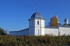 Goritsky-Kloster von Dormition in der Stadt von Pereslavl-Zalessky Russland Lizenzfreie Stockfotos