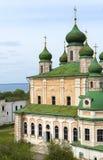 Goritsky monastery of the assumption in Pereslavl Zalessky Stock Photos