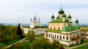 Goritsky monastery of the assumption in Pereslavl Zalessky Stock Image
