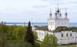 Goritsky monastery of the assumption in Pereslavl Zalessky Stock Images
