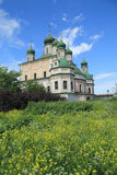 Goritsky monastery of the assumption in Pereslavl Zalessky Royalty Free Stock Image