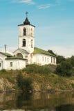 Goritsky monastery. The bell tower. Royalty Free Stock Photo