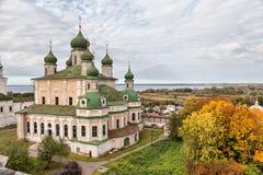 Goritsky monastery in Pereslavl Zalessky Stock Photography
