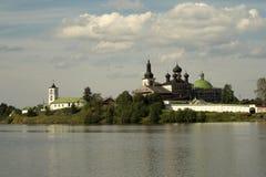 Goritsky monastery. Royalty Free Stock Photos