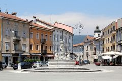 Gorizia, Itália foto de stock royalty free