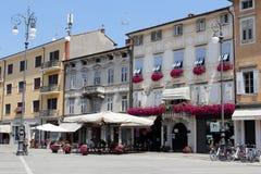 Gorizia, Italien stockbild