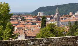 Gorizia from its Castle Park Stock Photos