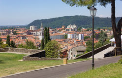 Gorizia from its Castle Park Stock Photography