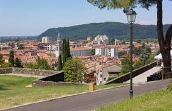 Gorizia from its Castle Park Stock Photography