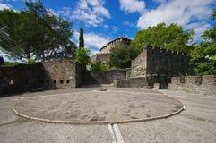 Gorizia slott Arkivbild