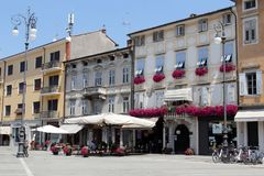 Gorizia, Włochy Obraz Stock