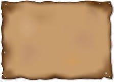 gorizontal παλαιό έγγραφο απεικόνιση αποθεμάτων