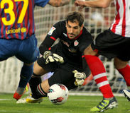 Gorka Iraizoz of Athletic Bilbao Royalty Free Stock Photography