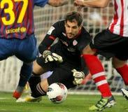 Gorka Iraizoz de Bilbao sportif Photographie stock libre de droits