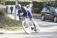 Gorka Izaguirre Insausti Spanish Cyclist Royalty Free Stock Image