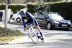 Gorka Izaguirre Insausti Spanish Cyclist Royalty Free Stock Photos