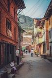Gorkha backstreet Royalty Free Stock Images