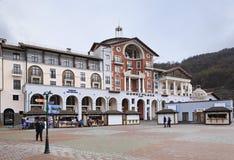 Gorki Plaza in the Esto Sadok Stock Photos
