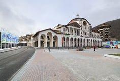 Gorki Plaza in the Esto Sadok Stock Image