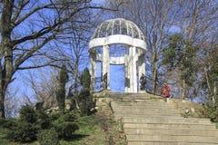 Gorkiy park. Retro terrace Royalty Free Stock Image