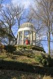 Gorkiy park. Retro terrace Royalty Free Stock Photo
